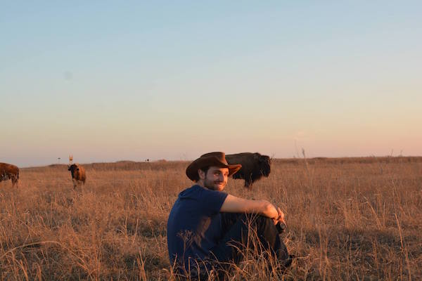 Me and some bison